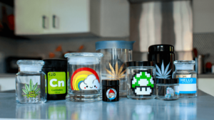 weed jar containers